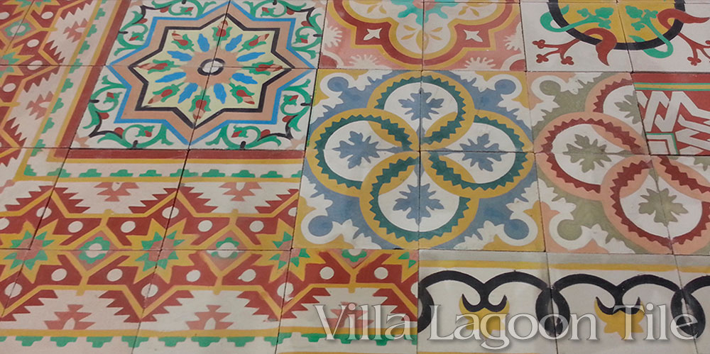 Cement tile made in cuba